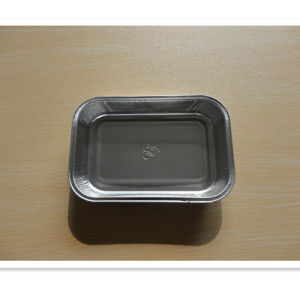 Food Grade Without Lacquered Airline Food Foil Tray pictures & photos