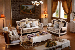 Pinyang European Style Upholstery Fabric Sofa pictures & photos