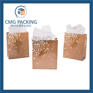 Golden Printing Wedding Small Gift Paper Bag (DM-GPBB-153) pictures & photos