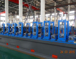Wg114 High Quality Steel Pipe Production Line pictures & photos