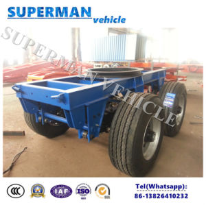 2 Axle Superlink Cargo Truck Trailer Drawbar Dolly pictures & photos