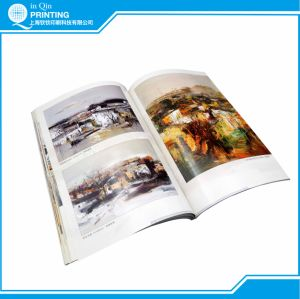 saddle stitch full color book printing service - Color Book Printing