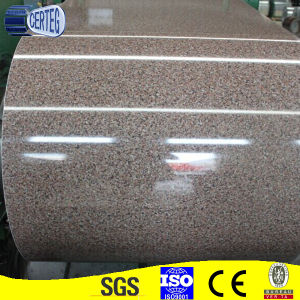 PPGI Color Coated Prepainted Galvanized Steel Coil (Flower Pattern) pictures & photos