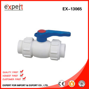PPR Single Female Threaded Ball Valve with Brass Ball Ex-13065
