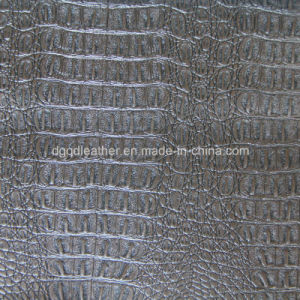 Top Grade Crocodile Design for Upholstery Leather (QDL-53201) pictures & photos