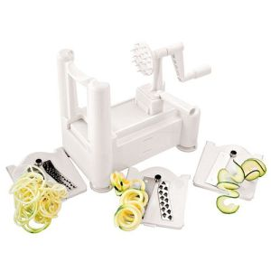 Tri-Blade Plastic Spiral Vegetable Slicer