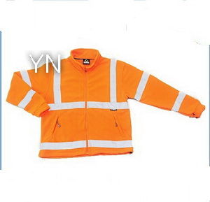 Orange Reflective Safety Jacket for Safety pictures & photos