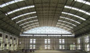 Prefabricated Steel Structure Aircraft Hangar