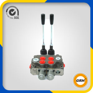 China OEM 80L/Min Two Spools Hydraulic Control Monoblock Valve pictures & photos