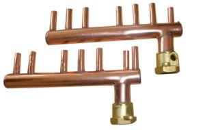 China Copper Manifold China Copper Manifold Copper Plumbing Manifold