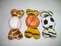 Pet Toy Dog Ball Plush Chew Squeaky Pet Toy pictures & photos
