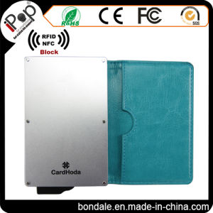 Anti Theft RFID Blocking Card Sleeve Wallet for Credit Card Protector