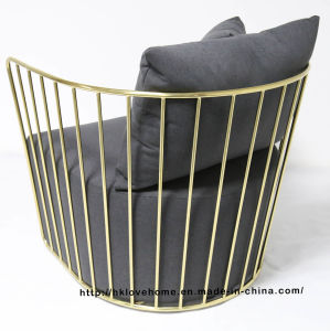 Modern Replica Leisure Coffee Steel Single Sofa Wire Chair pictures & photos