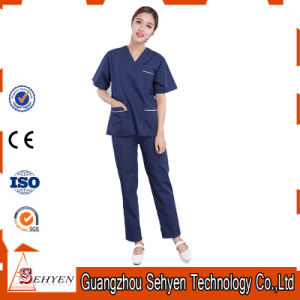Reusable Unisex Medical Cotton Hospital Uniforms of Cotton pictures & photos