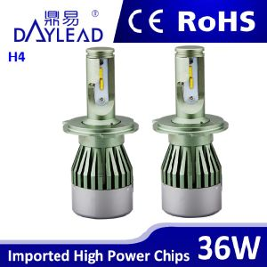 LED Lamp Replace HID Xenon Hottest Auto H4 LED Headlight