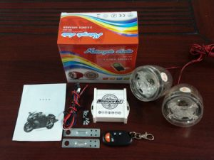 2 Way Motorcycle Alarm System with Speaker Amplifier Mini Power pictures & photos