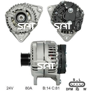 Bosch Alternator 0124555005 Ca1699IR 12591 pictures & photos