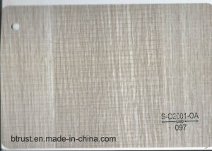 Wood Grain PVC Decorative Film/Foil for Cabinet/Door Vacuum Membrane Press Bgl096-101 pictures & photos