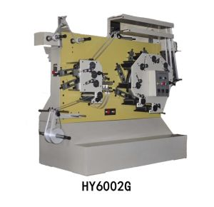 Flexo High Speed Label Printing Machine (HY6002G) pictures & photos