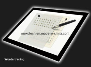 Ultra Slim LED Artcraft Tracing Light Pad A4 Light Box for Sketch Tattoo Design pictures & photos