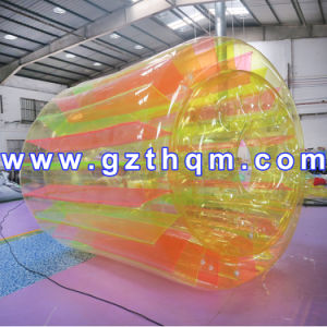 Low-Priced Quality Water Inflatable Roller Ball/Promotional Inflatable Rolling Ball for Kids pictures & photos