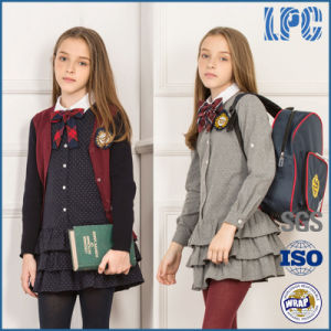 Customized Fashion Girls School Uniform pictures & photos