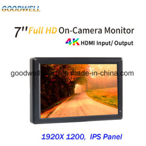 HDMI Input/Output Camera Mount 7 Inch TFT LCD pictures & photos