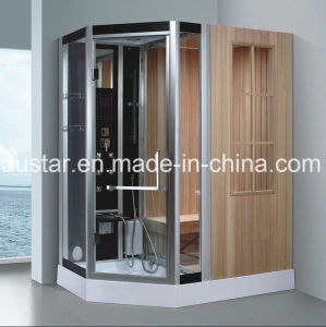 1900mm Sector Steam Combined Sauna with Shower (AT-8864A) pictures & photos