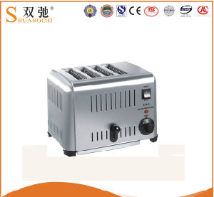 High Quality Commercial 4-Slice Toaster with Stainless Steel pictures & photos