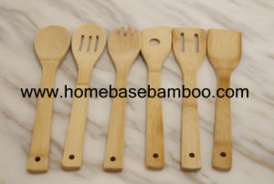 FDA LFGB SGS Bamboo Utensil Tools Spoon, Spatula, Fork Cheap Cookware pictures & photos