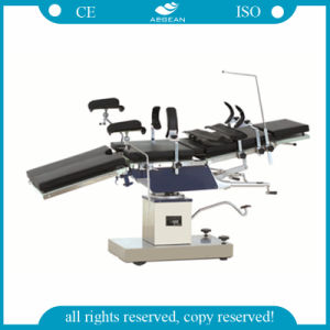AG-Ot025 ISO Ce Approved Adjustable Hospital Manual Hydraulic Operating Table pictures & photos