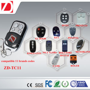Wireless Universal RF Remote Control That Compatible with Famous Brands Such as Bft Nice Similo Erreka pictures & photos