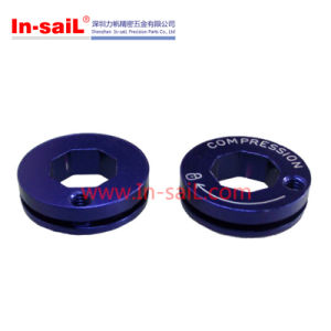 Aluminium 6061 Bushing with Blue Anodized pictures & photos