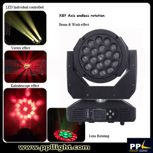 Endless Rotation B-Eye 19X15W LED Moving Head Zoom Light