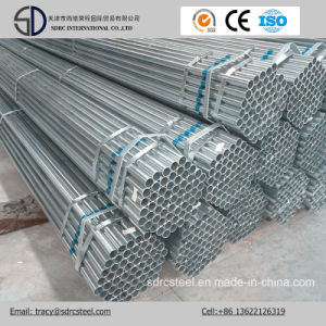 Galvanized Metal Pipe / Hot-DIP Gi Zinc Coated Steel Pipes pictures & photos