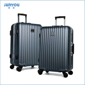 05d5fe5d7ec9 4 Wheels Hand Carry PC Cheap Lightweight Suitcases Luggage 3 PCS Set with  Junyou
