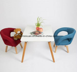 Children Real Wood Chair Backrest Armchair Baby Eat Chair to Write Little Stool Chair (M-X3815) pictures & photos