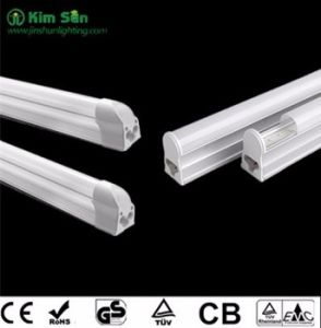 LED T5/T8 Tube Light 600mm1200mm 9W18W Glass Plastic High Quality pictures & photos