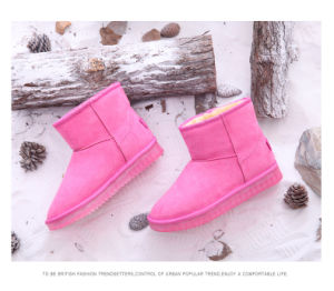 High Top Winter LED Boots Women Casual Shoes Rabbit′s Hair Snow Boots New Simulation Sole LED Shoes for Adults Zapatos Mujer pictures & photos