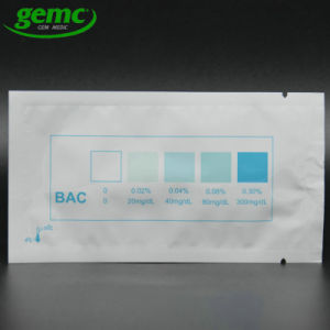 Accurate Rapid Disposable Saliva Alcohol Detector Alcohol Test Kits for Car Driving pictures & photos