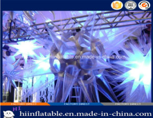 2015 Hot Selling LED Lighting Decorative Inflatable Star 0018