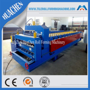Metal Glazed Tile Roofing Sheet Roll Forming Machine