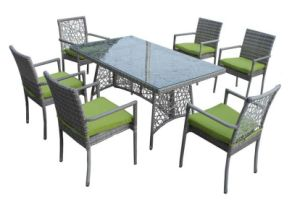 Rattan Furniture Outdoor Dining Rattan Table