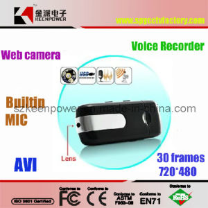 USB Flash Shape Camera Camcorder DVR, Digital Video,Voice Recorder Camera with Micro SD Slot (HC023)