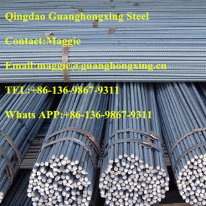 HRB400/500, Hot Rolled, Deformed Steel Bar