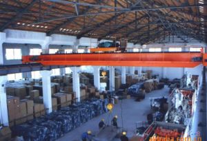 10ton 20ton Double Girder Electric Hoist Travelling Overhead Crane pictures & photos