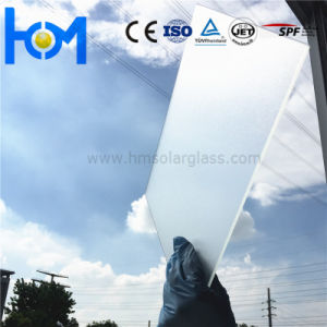 3.2mm Tempered Arc Low Iron Solar Glass for PV Module pictures & photos