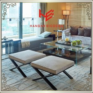 Living Room Stool (RS161803) Store Stool Bar Stool Cushion Outdoor Furniture Hotel Stool Shop Stool Restaurant Furniture Stainless Steel Furniture