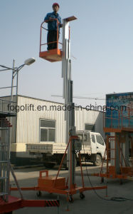 Approved China Man Lift for Change Lamps pictures & photos