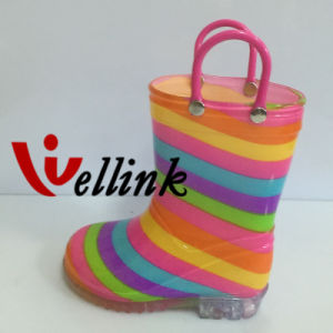 Kids Fashion Style Rubber Rainboots